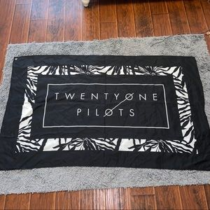 Other - Twenty One Pilots Flag Merch Wall Decor Tapestry